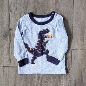 18M Dinosaur Eats Car Boys 'T-Shirt